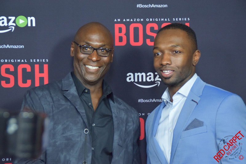 lance reddick jamie hector at the bosch season 2. Black Bedroom Furniture Sets. Home Design Ideas